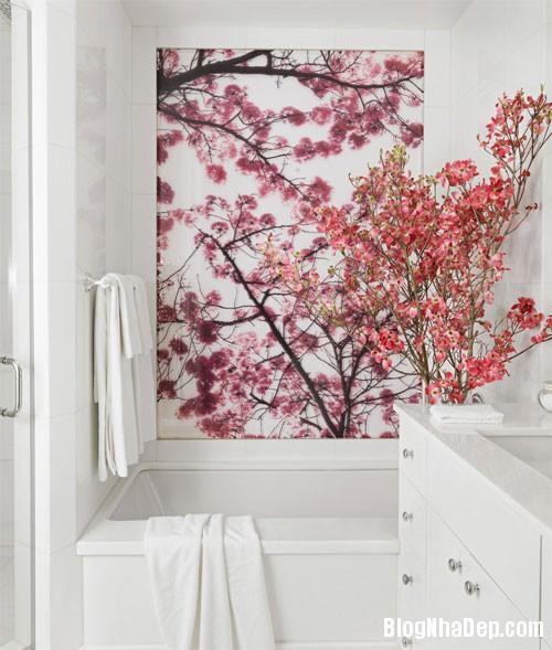 d6796 Vài chiêu trang trí đơn giản làm nổi bật phòng tắm