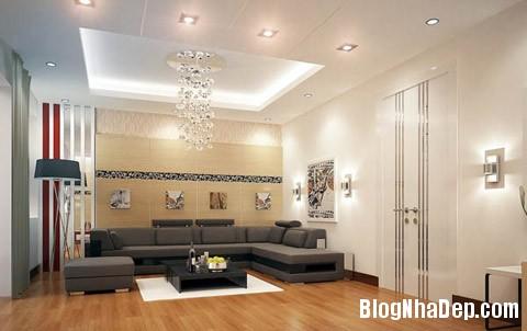diem nhan tuong phong khach 2 Tạo điểm nhấn đẹp cho phòng khách