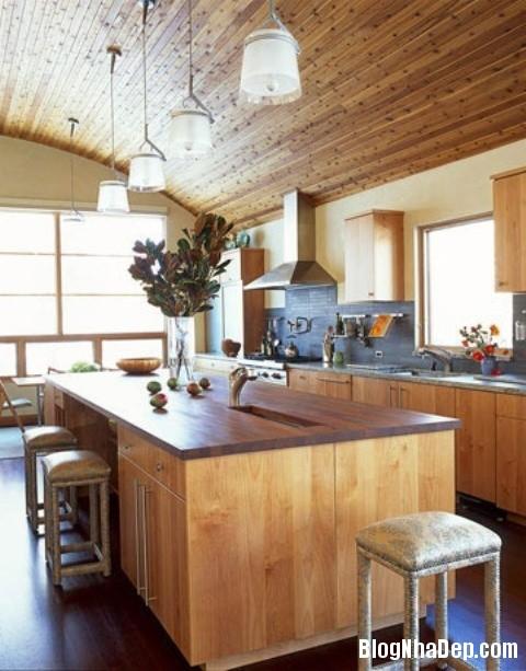 file 00317 Thiết kế không gian bếp ấm áp với nội thất gỗ