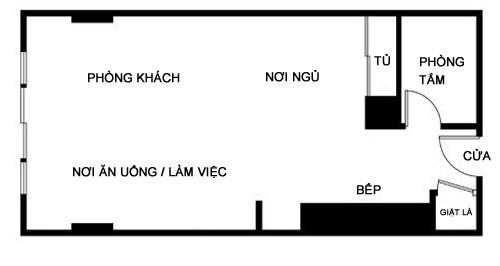 file 0104 Bài trí nội thất sinh động, đầy sức sống cho căn hộ nhỏ