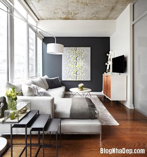 file 01118 Kết hợp màu xám và vàng trong trang trí nội thất phòng khách