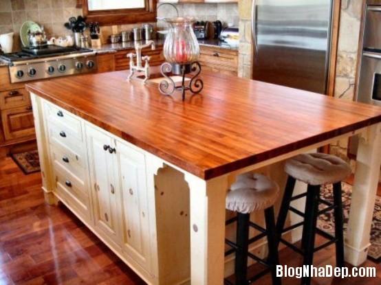 file 0193 Thiết kế không gian bếp ấm áp với nội thất gỗ