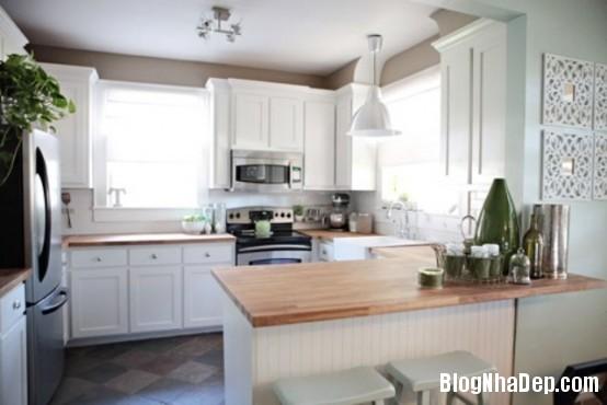 file 0222 Thiết kế không gian bếp ấm áp với nội thất gỗ