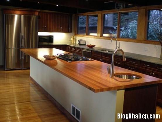 file 0232 Thiết kế không gian bếp ấm áp với nội thất gỗ