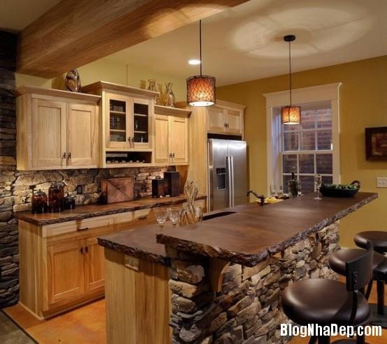 file 024 Thiết kế không gian bếp ấm áp với nội thất gỗ