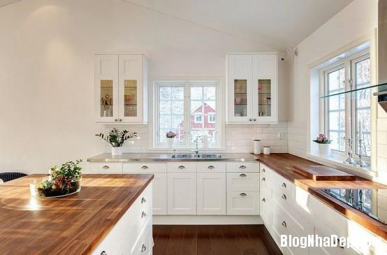 file 0261 Thiết kế không gian bếp ấm áp với nội thất gỗ