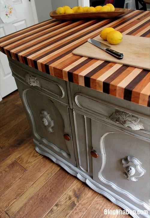file 028 Thiết kế không gian bếp ấm áp với nội thất gỗ