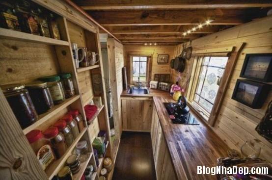 file 029 Thiết kế không gian bếp ấm áp với nội thất gỗ