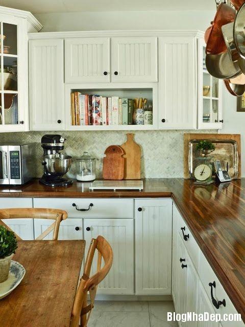 file 033 Thiết kế không gian bếp ấm áp với nội thất gỗ