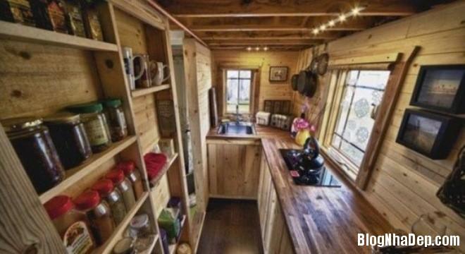 file 039 Thiết kế không gian bếp ấm áp với nội thất gỗ