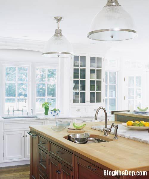 file 042 Thiết kế không gian bếp ấm áp với nội thất gỗ
