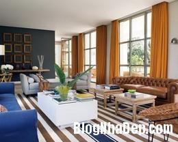 freshandmodernhousewithlotsofcolor5554x443 Ngôi nhà quyến rũ mang đậm phong cách Pháp