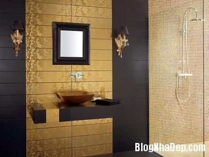 gach lat phong tam 1 Ý tưởng bài trí cho phòng tắm nhỏ
