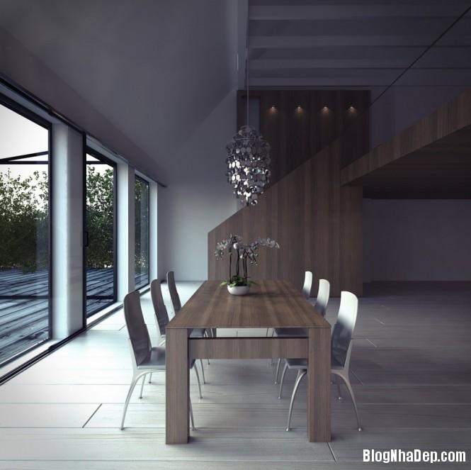 httpdepcomvnuploadedphuongnth20120831contemporarydiningroom6 Mẫu thiết kế đẹp cho không gian ăn uống
