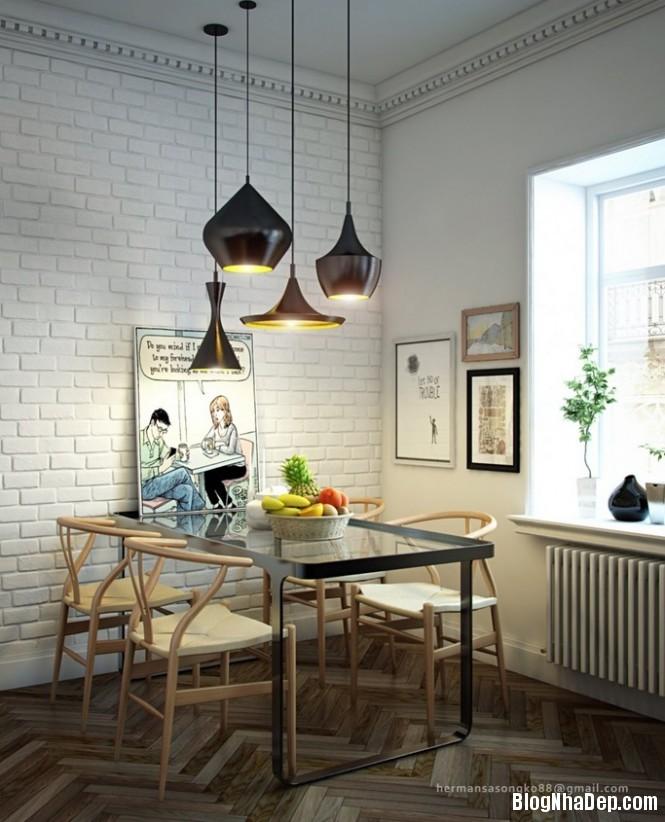 httpdepcomvnuploadedphuongnth20120831diningtablelighting665x Mẫu thiết kế đẹp cho không gian ăn uống