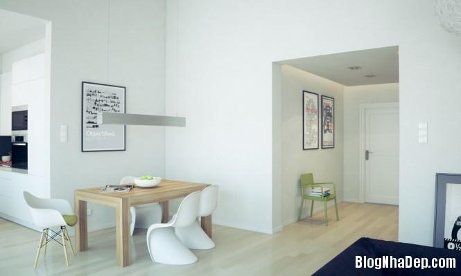 httpdepcomvnuploadedphuongnth20120831whitediningroom665x399j Mẫu thiết kế đẹp cho không gian ăn uống