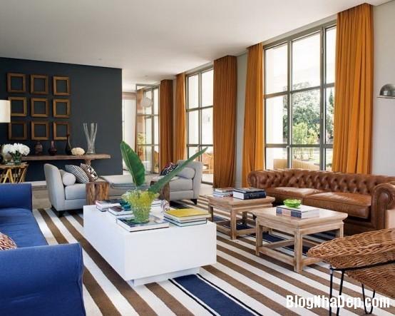 httpwwwdigsdigscomphotosfreshandmodernhousewithlotsofcolor5554x443jpg Ngôi nhà quyến rũ mang đậm phong cách Pháp