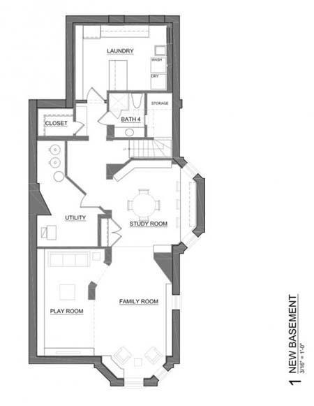 ngoi nha rong lon sang trong dang mo uoc cua gia dinh tre 3d Ngôi nhà ba tầng rộng lớn cho một gia đình trẻ ở Mỹ
