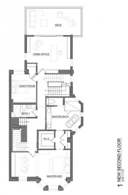 ngoi nha rong lon sang trong dang mo uoc cua gia dinh tre a50f Ngôi nhà ba tầng rộng lớn cho một gia đình trẻ ở Mỹ