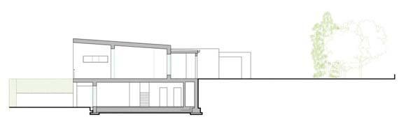 ngoi nha voi thiet ke tao bao cua cac kien truc su damil 007 Ngôi nhà rộng lớn nằm ngang sườn núi của các kiến trúc sư Damilano Studio