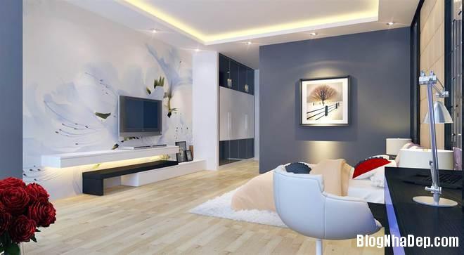 nha pho11 Trang trí nội thất cho căn nhà 3 tầng diện tích 80 m2