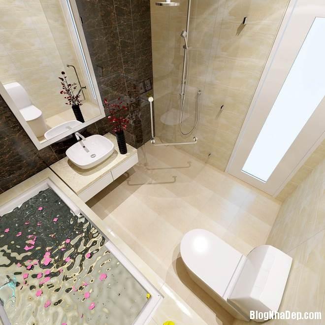 nha pho17 Trang trí nội thất cho căn nhà 3 tầng diện tích 80 m2