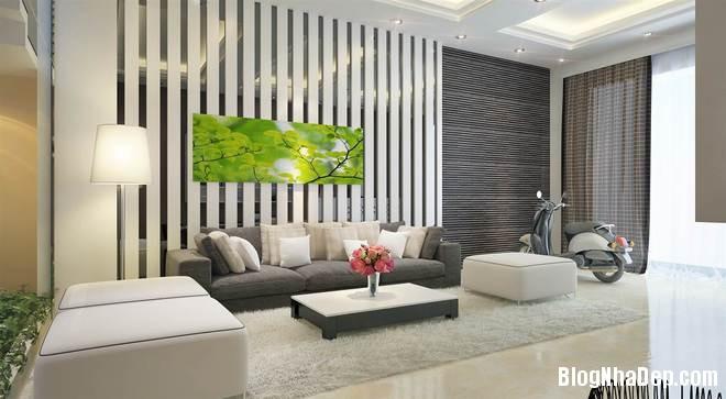 nha pho2 Trang trí nội thất cho căn nhà 3 tầng diện tích 80 m2