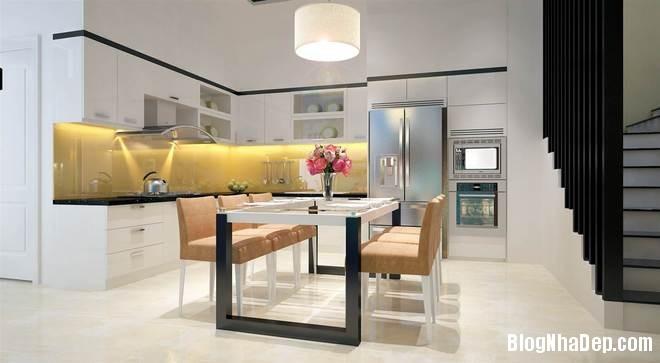 nha pho3 Trang trí nội thất cho căn nhà 3 tầng diện tích 80 m2