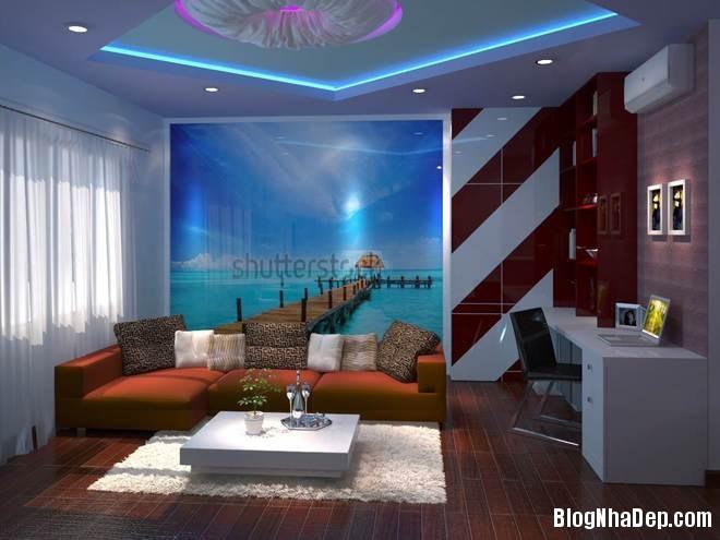 nha pho5 Trang trí nội thất cho căn nhà 3 tầng diện tích 80 m2