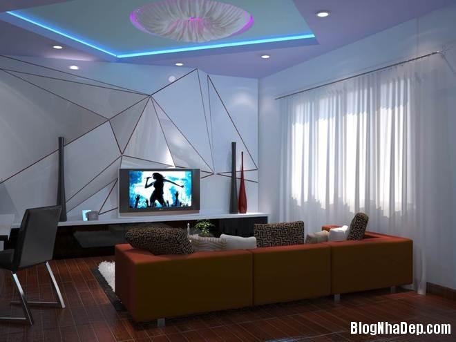 nha pho6 Trang trí nội thất cho căn nhà 3 tầng diện tích 80 m2
