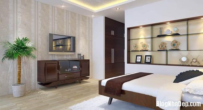 nha pho8 Trang trí nội thất cho căn nhà 3 tầng diện tích 80 m2