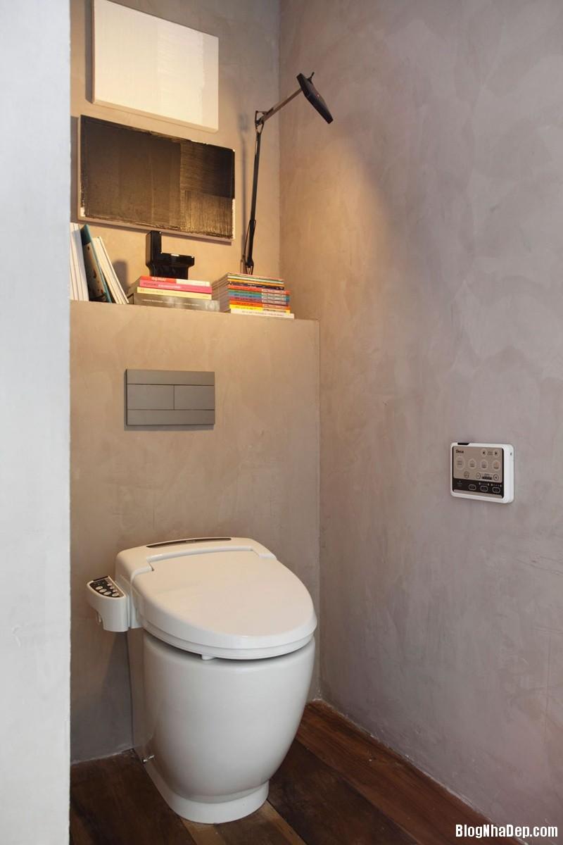 nha tinh te 24 7e0db Ngôi nhà nam tính với tông màu trầm