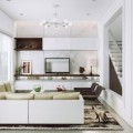 Beautiful Living Room Modern Furniture Chic Contemporary Spaces