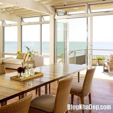 nha ben bo bien 4 Ngắm ngôi nhà gỗ xinh xắn bên bờ biển