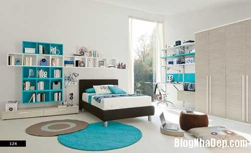 nhung can phong dang yeu cho be 1 Màu sắc đẹp cho phòng trẻ em hay tuổi teen