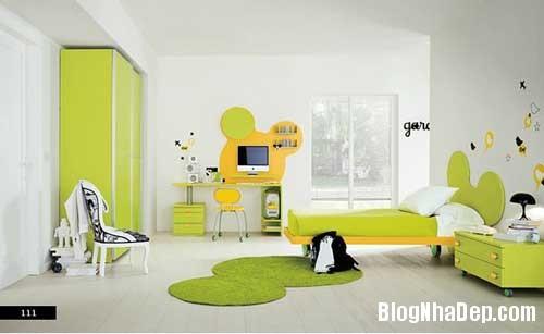 nhung can phong dang yeu cho be 11 Màu sắc đẹp cho phòng trẻ em hay tuổi teen
