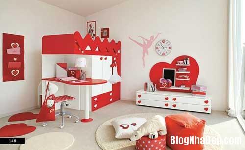 nhung can phong dang yeu cho be 12 Màu sắc đẹp cho phòng trẻ em hay tuổi teen