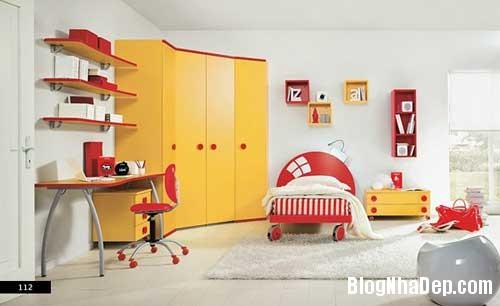 nhung can phong dang yeu cho be 14 Màu sắc đẹp cho phòng trẻ em hay tuổi teen