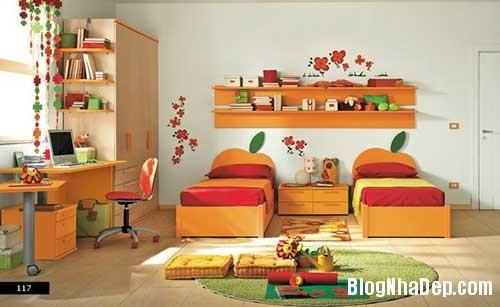nhung can phong dang yeu cho be 17 Màu sắc đẹp cho phòng trẻ em hay tuổi teen