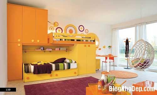nhung can phong dang yeu cho be 18 Màu sắc đẹp cho phòng trẻ em hay tuổi teen