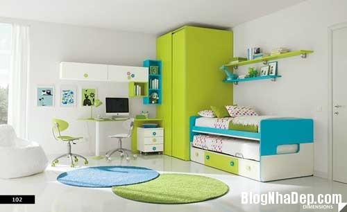 nhung can phong dang yeu cho be 2 Màu sắc đẹp cho phòng trẻ em hay tuổi teen