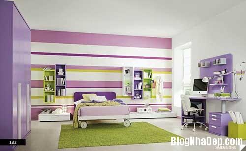 nhung can phong dang yeu cho be 4 Màu sắc đẹp cho phòng trẻ em hay tuổi teen