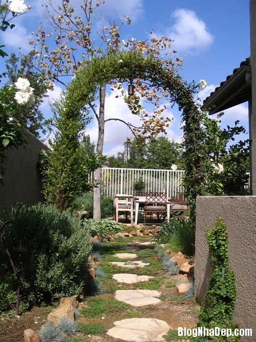 nhung goc lang man ben ngoai ngoi nha 8 Thêm góc lãng mạn cho khu vườn
