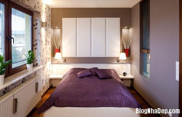 noi rong phong ngu nho bang nhung thu thuat don gian p1 Trang trí nội thất cho phòng ngủ nhỏ