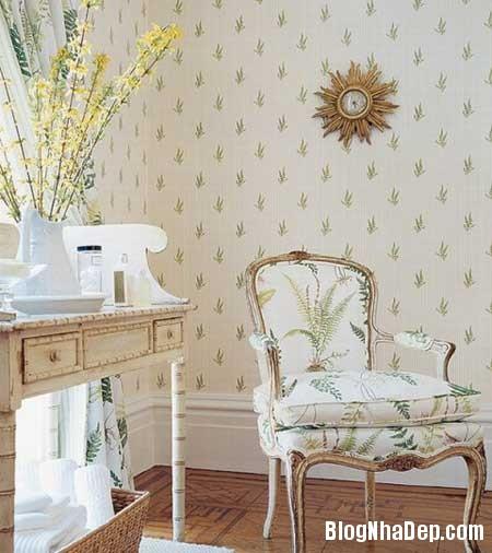 noi that phap 21 Phong cách trang trí nội thất lãng mạn của Pháp
