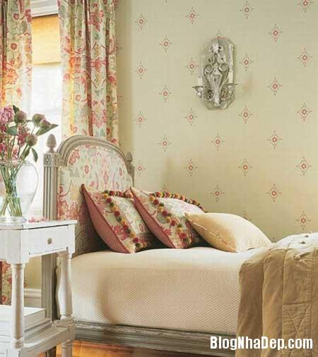 noi that phap 31 Phong cách trang trí nội thất lãng mạn của Pháp