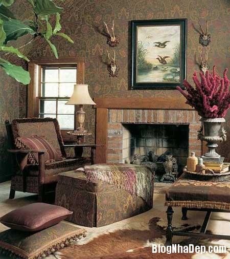 noi that phap 41 Phong cách trang trí nội thất lãng mạn của Pháp