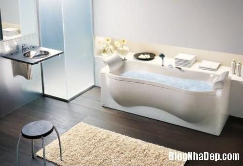 organic shaped bathtub 665x454 500x3411 Mê mẩn với những thiết kế phòng tắm đẹp như ở spa