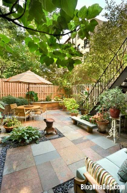 patio lang man mua he 7 Patio lãng mạn mùa hè