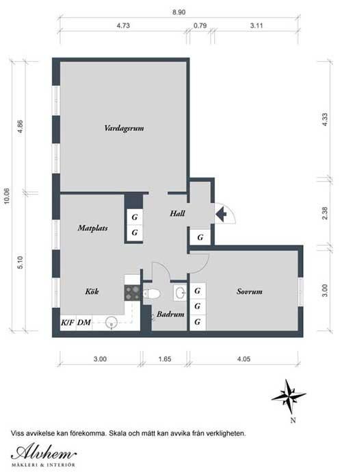 phong cach tre trung 19 Phong cách trẻ trung của căn hộ 62,5m2